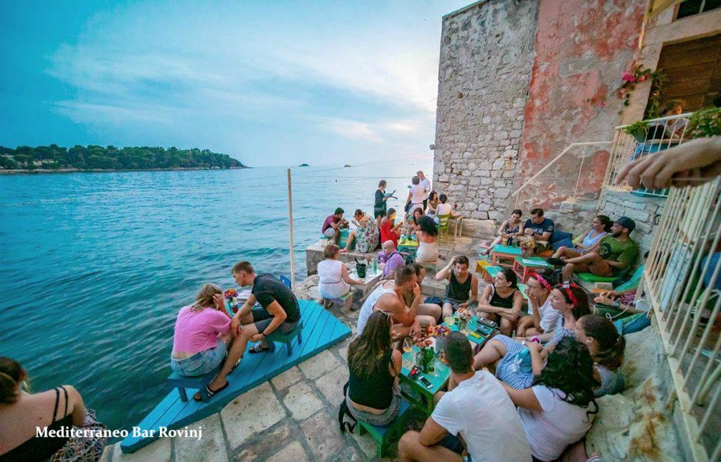 Terrace @ Mediterraneo Bar Rovinj